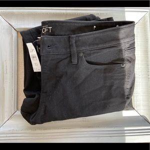 NWT Black Loft Jeans
